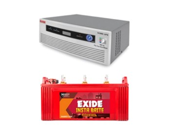 EXIDE MAGIC 625VA HOME UPS AND EXIDE INSTA BRITE IB1500